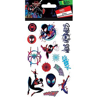 Standard Stickers 4 sheet - Spiderman Spiderverse - Stationery New st4107