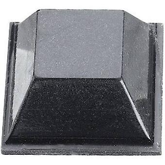3M SJ 5018 noha samolepiaca, štvorcová čierna (L x š x H) 12,7 x 12,7 x 5,8 mm 1 ks (s)