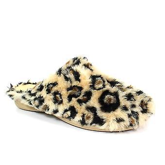 Slipper Republic Estellla Beige Leopard Slipper