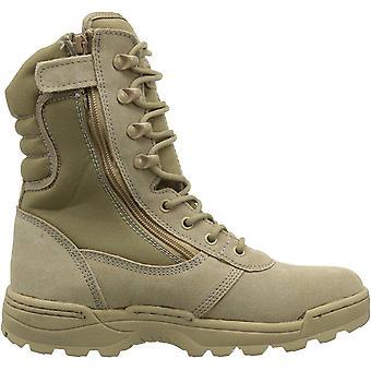 Ridge Footwear Men's Dura-Max Desert Zipper Work Boot, Sand, Size 9.5