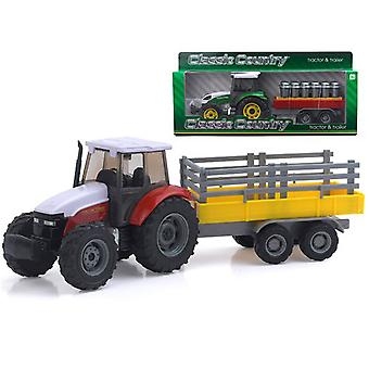 Classic Country 1:32 Vehicle Tractor And Trailer