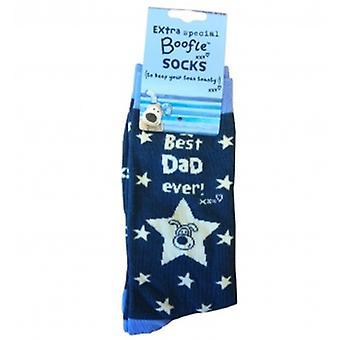 Ragyogó apa Mens Boofle zokni