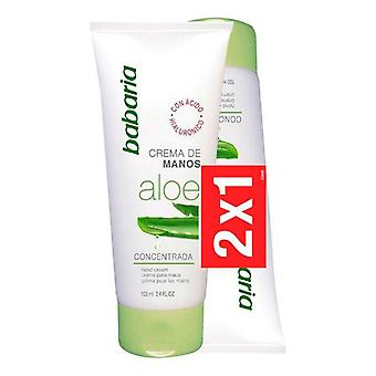 Hand Cream Aloe Babaria (2 pcs)