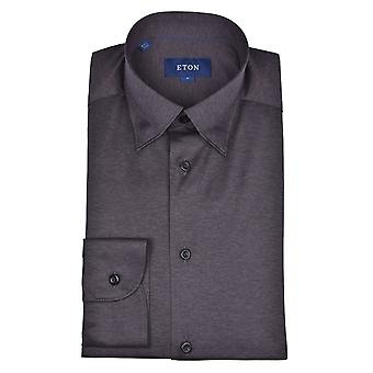 Eton Contemporary Shirt Charcoal