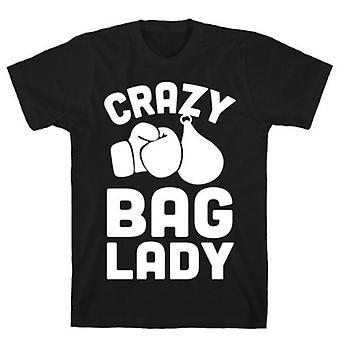 Crazy Bag Lady t-shirt