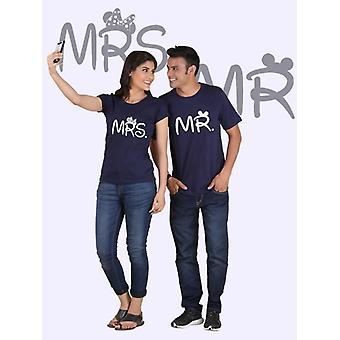 Mr. and mrs. couple t-shirts