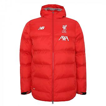 2019-2020 Liverpool Base Hooded Jacket (Red) - Kids