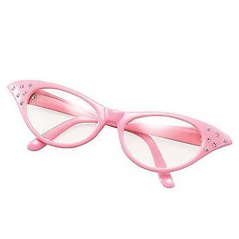 Bristol Nowość Kobieta 50s Okulary Różowy