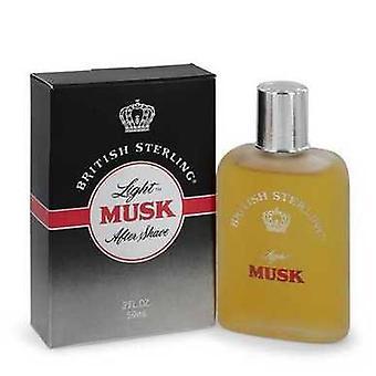 British Sterling Light Musk By Dana After Shave 2 Oz (men) V728-544270