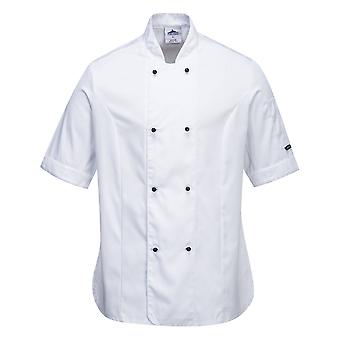 sUw - Rachel Ladies Short Sleeve Chefs Giacca
