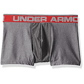 "Under Armour Men's Original Series 3"" Boxerjock, Charcoal Light Heath (020)/P..."