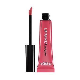 L'Oreal Paris Lip Paint Lacquer Liquid Lipstick 8ml Darling Pink #102