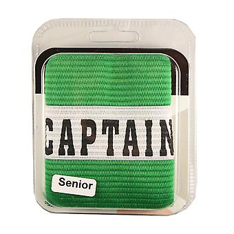 Captains Armband Captain Style Green Senior