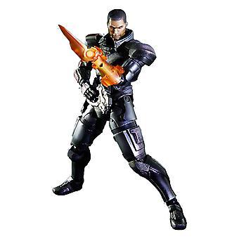 Mass Effect 3 Commandant Shepard Play Arts Action Figure