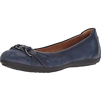 Comfortiva Women's,, Midnight Navy Distressed Foil Suede/Glamorous, Size 9.5