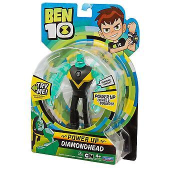 Ben 10 moc Deluxe figury - Diamond Head