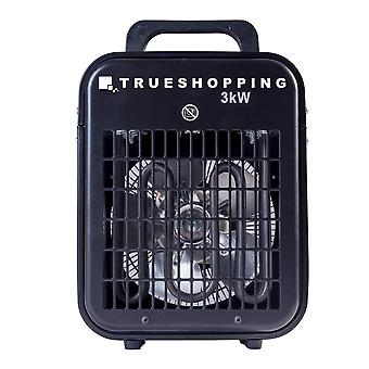 Portable Workshop Garage 3KW Electric Fan Space Heater with 3-Heat Settings