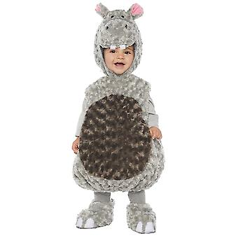 Hippo Toddler Costume