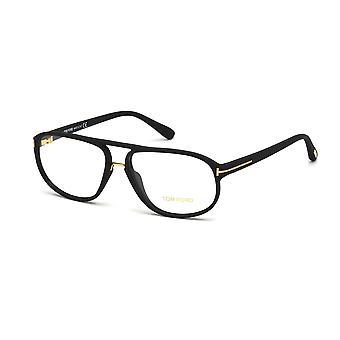 Tom Ford TF5296 002 Matte Black Glasses