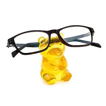 El titular de las gafas Yummie Bear Yellow