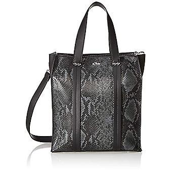 s.Oliver s.Oliver39.908.94.8789 Woman Strap Bag (Grey/Black) 13x30x27 centimeters (B x H x T)
