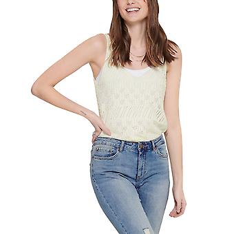 Only Women's Linessa Knitted Top Ecru