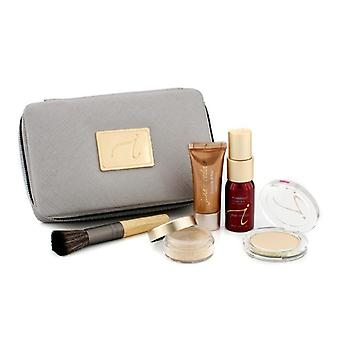 Starter-Kit (6 Stück): 1xprimer heller, 1xloose Mineralpulver, 1xmineral Foundation, ... - ' light 6pcs