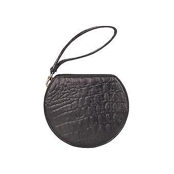 Hills & West Lunar Mini Wristlet Clutch Noir