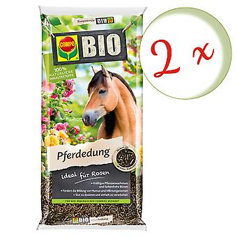 Sparset: 2 x concime di cavallo COMPO BIO, 12 kg