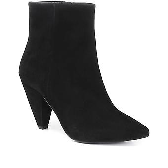 Jones Bootmaker Heeled Leather Ankle Boot