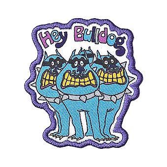 De Beatles patch gele onderzeeër Hey Bulldog nieuwe officiële geborduurd opstrijkbare