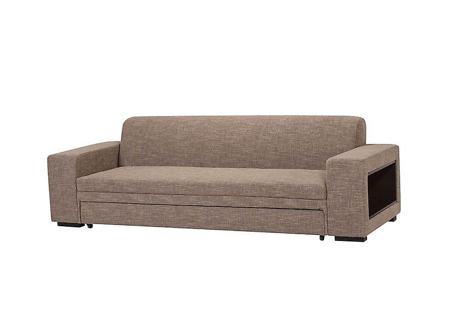 Canapé lit Bliss Color Walnut bois 245x888x75 cm