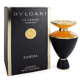 Bvlgari Le Gemme Zahira Eau De Parfum Spray By Bvlgari 3.4 oz Eau De Parfum Spray