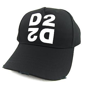Dsquared2 D2 Mirror Cap Noir