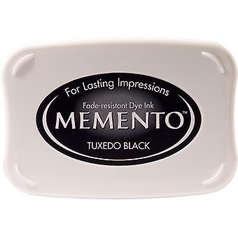 Memento Dye inkt Pad-Tuxedo Black