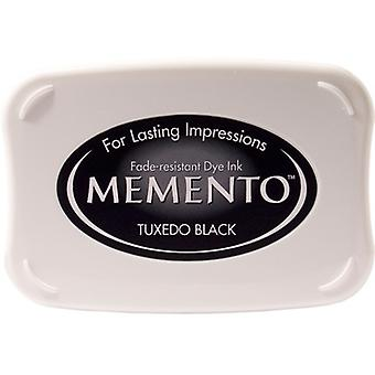 Memento Dye Ink Pad-Tuxedo Black