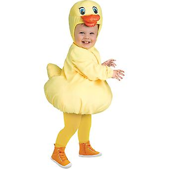 Rubber Ducky Toddlers Costume