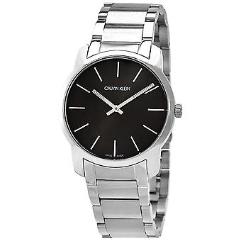 Calvin Klein K2G22143 City Extension Quartz Black Dial Unisex Watch