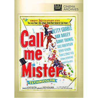 Call Me Mister [DVD] USA import