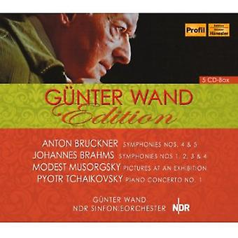 Bruckner/Musorgsky/Tchaikovsky - Gunter Wand Edition [CD] USA import