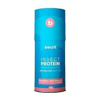Becrit Strawberry Protein Shake with white chocolate and a touch of baobab 650 g