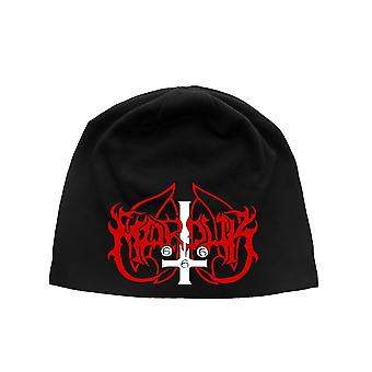 Marduk Beanie Hat Cap band Logo new Official Black jersey print
