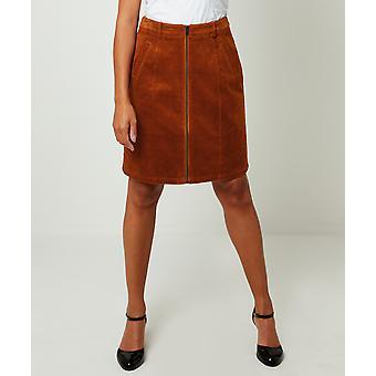Joe Browns Kvinnors A-Line Cord Mini Kjol