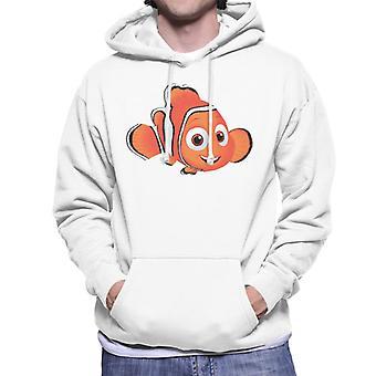 Disney Finding Nemo Textured Men's Hooded Sweatshirt