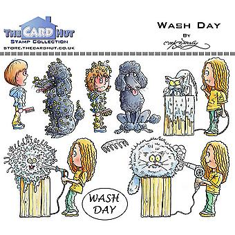 The Card Hut Wash Day Clear Stamps