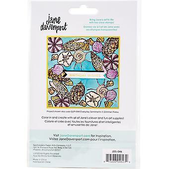 Spellbinders She Sells Seashells Clear Stamp Set
