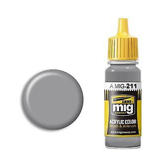 Ammo by Mig Acrylic Paint - A.MIG-0211 FS 36270 Medium Gray (17ml)