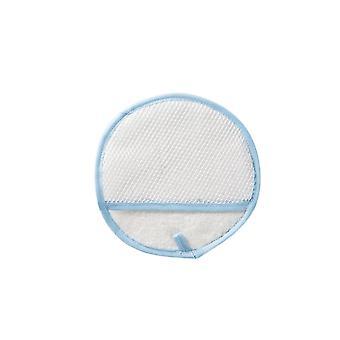 Cortina de poliéster limpeza luvas de pano azul 19x19CM