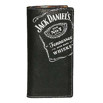Portefeuille en cuir noir Rodeo