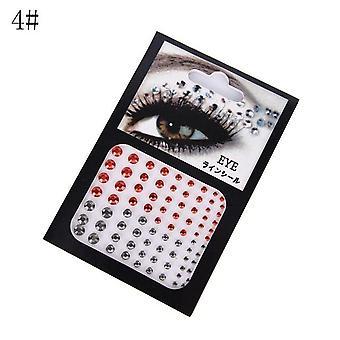 Fashion Tattoo Diamond Makeup Eyeliner Eyeshadow - Face Sticker Jewel Eyes Makeup Crystal Eye Makeup